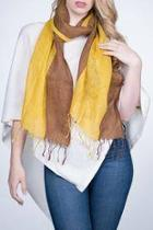 Linen Scarf Two Tone