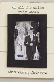 Wedding Walk Frame