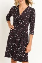 Bird Wrap Dress