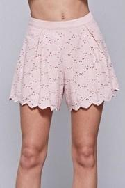 Embroidered Lace Shorts