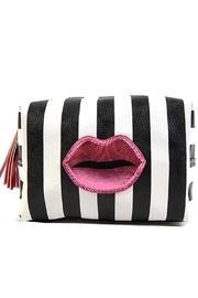 Stripe Lips Makeup-bag