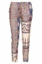Tapestry Slouchy Pants