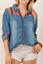 Button-down Denim Shirt