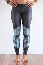 Crystal-skull Performance Leggings
