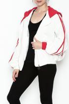 Sporty Hooded Jacket