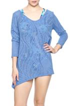 Eyelet Stretch Tunic