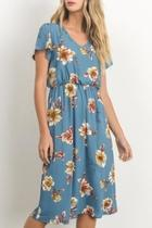 Blossom Midi Dress
