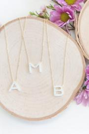 Aurora Letter Necklaces