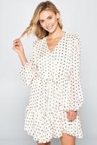 Amanda Polkadot Dress