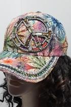 Embellished Peace Hat
