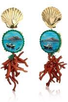 Vesuvio Shell Earrings