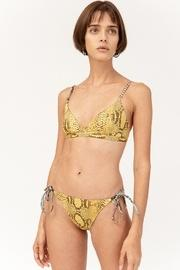 Timeless Snakeskin Yellow Bikini Bottom