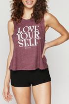 Love Self Crop Tank
