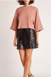 Time To Shine Sequin Mini Skirt