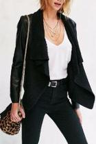 Sarafina Faux Leather Jacket