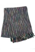 Colorful Fringe Scarf