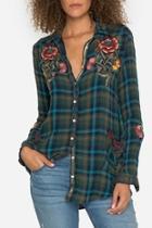 Jasmine Plaid Shirt