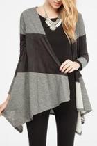 Colorblock Knit Jacket