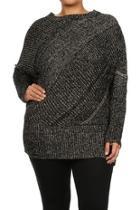 Stripe Crewneck Sweater