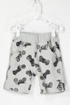 Motorcycle Printed Shorts