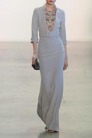 ¾ Sleeve Gown