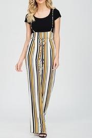 Stripe Strap Jumpsuit