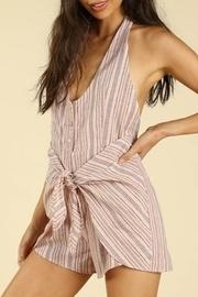 Backless Wrap Romper