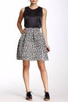 Flared Bandage Skirt