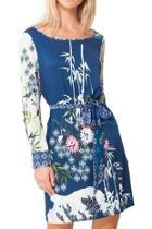 Malene Satin-wave Dress