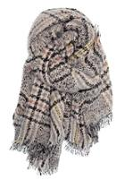 Heathered Plaid Scarf