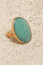 Copper Amazonite Ring