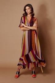 Chiffon Stripe Dress
