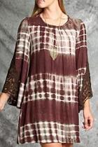 Tie Dye Crochet Dress