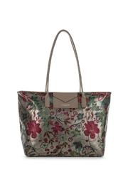 Satin Floral Tote