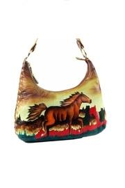 Hand-painted Horse Purse