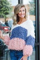 Mountain Air Colorblock Sweater