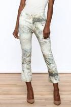 Marble Cropped Pants