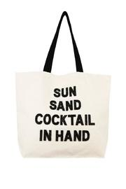 Cocktails Beach Bag
