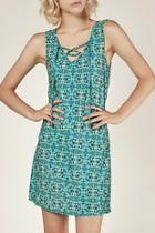 Senor Print Cross Tie Aline Dress