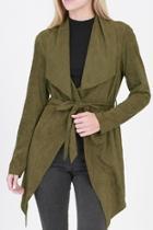 Olive Wrap Jacket