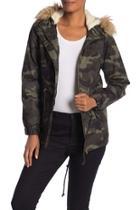 Camo Sherpa Jacket
