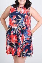 Hawaiian-hiatus Curvy Dress