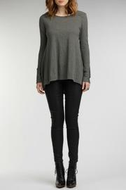 Ruched Longsleeve Tee