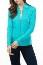 Turquoise Zip-up Jacket