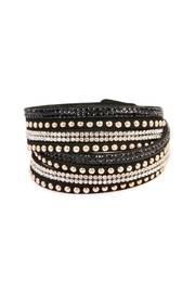 Black Wrap Around Bracelet