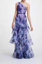 Floral Organza Gown