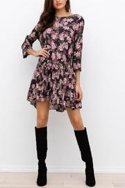 Ootd Floral Mini Dress