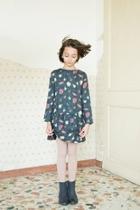 Printed Drop Dress