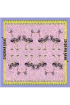 Chiffon Ostrich Scarf
