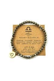 Zodiac Pyrite Bracelet